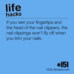The post #151 – The Best Way To Cut Your Nails appeared first on 1000 Life Hacks.