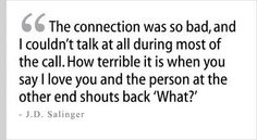 Salinger Quote