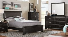 Affordable Colorful King Bedroom Sets: Red, Blue, Green, Gray, etc