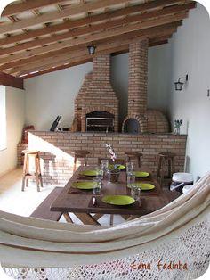 CELEIRO MINEIRO MÓVEIS Rústicos e Decoração : Decoração rústica: o tradicional na área gourmet