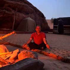 Spending a night at the #Bedouin camp after a night hike in the #desert. #GrabYourDream #TravelAdventurer #Jordan