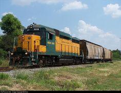 "RailPictures.Net Photo: AKDN 3018 Acadiana Railway (AKDN) EMD GP30 at Crowley, Louisiana by Brian ""Porkchop"" LaFleur"