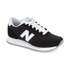 New Balance '501' Sneaker (900 ARS) ❤ liked on Polyvore featuring shoes, sneakers, new balance, new balance footwear, new balance shoes, rubber sole shoes and new balance sneakers