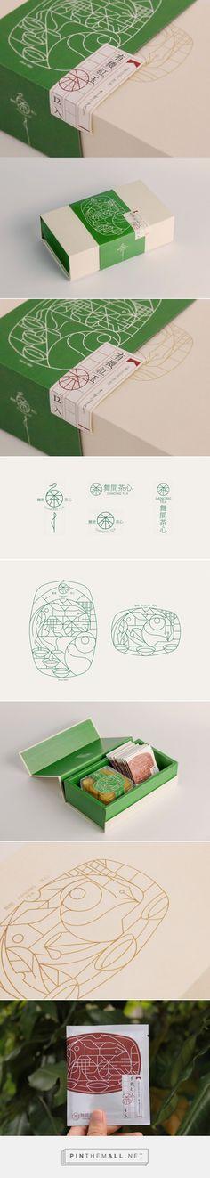 Dancing Tea packaging design by Tzou Yun-Da - http://www.packagingoftheworld.com/2017/11/dancing-tea.html