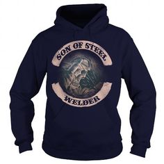 Make this awesome proud Welder: WELDER SON OF STEEL as a great gift Shirts T-Shirts for Welders