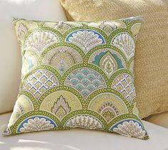 Marcy Scallop Indoor/Outdoor Pillow #potterybarn