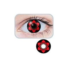 Order includes : One pair of Lenses  ITEM: HLLW N11 -Uchiha Sasuke  Description   Halloween contact lenses. Make sure you stand our with these Halloween contact lenses. These brightly colored contact lenses have an opaque color that completely covers your natural eye color. Crazy Contact Le...