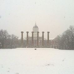 I remember days like this at Mizzou! Great Places, Places Ive Been, Fight Tiger, Pocket Full Of Sunshine, Missouri Tigers, Days Like This, Heaven On Earth, Winter Sports, To Go
