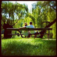 #truelove #heistheone #soulmate #bestfriends #parkbench
