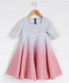 Take a look at this Looe Godet Dress - Infant & Girls by Fluke on #zulily today!