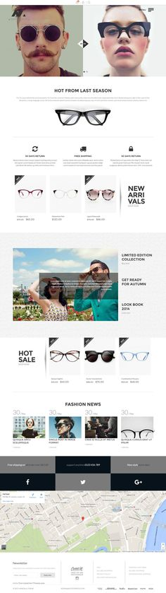 cb076388426e Mandala - Responsive Ecommerce Shopify Theme has 6 home page layouts # spectacles #sunglasses #