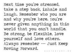 Next time you're stressed...