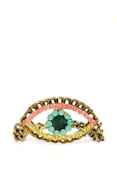 Crystal Eyes Bracelet