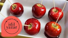 How To Make Apple Candy? Party Finger Foods, Ice Cream Party, Candy Apples, Homemade Beauty Products, Caramel Apples, Cherry, Health Fitness, Sweets, Fruit