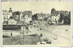 Coq S/ Mer -- Place De La Station.      ( 2 Scans ) - De Haan