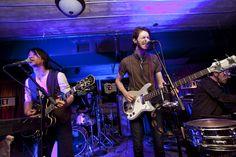 Quiet Hounds perform at the CNN GRILL //  photo via  Edward M. Pio Roda, CNN