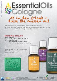 Diese Öle braucht ihr für den Urlaub. Schaut in der Praxis Bürk in Pulheim bei Köln vorbei.