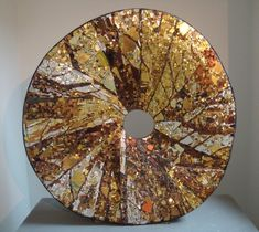 Mosaic sculpture great blend of neutrals by daisy Again something that can be adapted on plywood for the garden