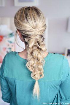 Three Easy Hair Tutorials   Twist Me Pretty   Bloglovin'