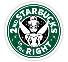 2nd Starbucks to the Right Sticker