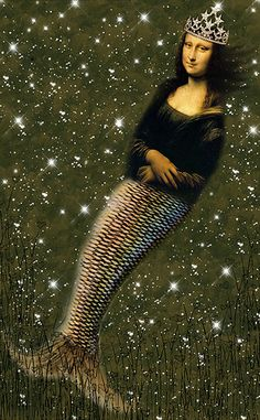Mona Lisa Under The Sea by Stars*Go*Blue on Flickr