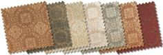 Custom Curtain Company Fabric Swatch - Westport Fabric in Spice by Custom Curtain Company. $1.45. Generously sized at 8-1/2 X 8 inch or 8-1/2 X 11 inch samples for a true visual effect. These generously sized swatches are made from 52% polyester and 48% nylon fabric. All fabric swatches are offered with free shipping. These Luxurious fabric swatches are for the Custom Curtain Company Westport Fabric Draperies. Purchase these to see the color and material before buying your ...