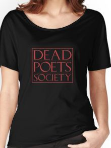LIT NERD :: DEAD POETS SOCIETY Women's Relaxed Fit T-Shirt