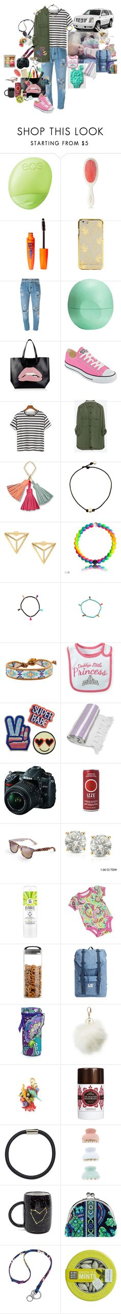 """""""Read D!!"""" by sportinggirl00 ❤ liked on Polyvore featuring Eos, Mason Pearson, Rimmel, Levi's, RED Valentino, Converse, Zara, FOSSIL, Shashi and Chan Luu"""
