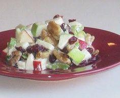 Waldorf Salad with Dried Cherries