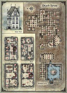 Curse of Strahd; Death House (Digital DM & Player Versions) Free!