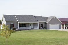 Custom ranch #modularhomes by Northwood Modular Homes, Inc.