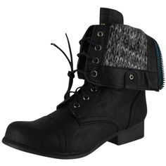 Madden Girl Women's Gizmoo Boot Black Paris 7.5 ($70) ❤ liked on Polyvore featuring shoes, boots, black boots, madden girl boots, kohl boots, madden girl shoes and kohl shoes