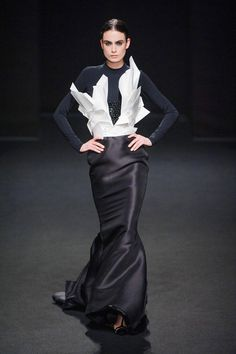 Stephane Rolland Fall 2013 Haute Couture Collection  - ELLE.com
