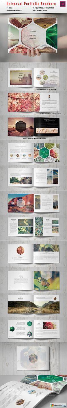 Universal Portfolio Brochure / Catalog More