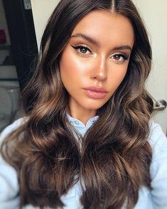 Beauty Make-up, Beauty Hacks, Hair Beauty, Make Up Looks, Natural Summer Makeup, Natural Glam Makeup, Stunning Makeup, Brunette Hair, Brunette Makeup