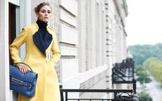 Whatta fab coat! Olivia Palermo Sports Jill Stuart in Eric Guillemains Vogue Girl Korea Shoot