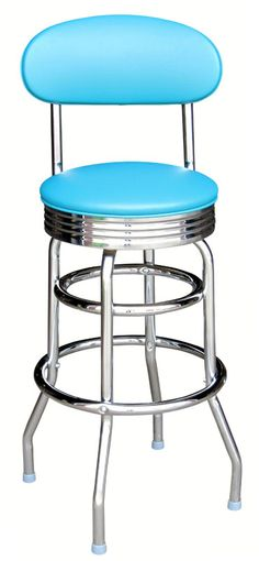 Clinton Bar Stool... kitchen island. turquoise or red??? hmmmm....