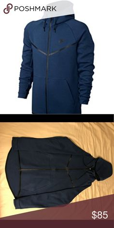 Nike Tech Fleece Windrunner Jacket (NWOT) Brand new/Never worn. Made out of very comfortable material. If you have any questions leave them below. Nike Jackets & Coats