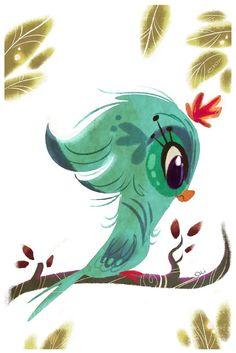 Bird Beauty by *ELIOLI