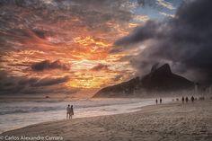 Olhares.com Fotografia | �carlos alexandre camara | Fim de tarde no Rio de Janeiro