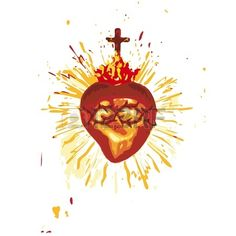 Sacred Heart Stock Vector