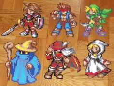 Final Fantasy 1 Perler Cast by TheSuperBoris.deviantart.com on @deviantART