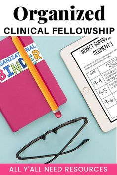 The ASHA Clinical Fellowship can look overwhelming at first, whether you're a CF or first-time supervisor. Use this binder - available as either B&W printable pages or editable on a device - to get organized! As the CF year progresses, the binder offers a good way for communication and documentation to lead to final ASHA requirements - and your CCCs! #ASHASpeech #SpeechBinder #ClinicalFellowshipSLP Speech Therapy Activities, Language Activities, Speech Language Pathology, Speech And Language, Receptive Language, Binder, Teaching Resources, Clinic, Communication