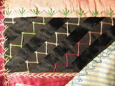 vintage crazy quilt