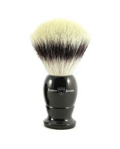 Edwin Jagger Synthetic 876 Shaving Brush - Small Ebony & StandHandmade in SheffieldImitation EbonyMade by Edwin Jagger, this finest quality traditio. Badger Shaving Brush, Shaving & Grooming, Edwin Jagger, Shaving Cream, Brushes, Alternative, Soap, English, Traditional