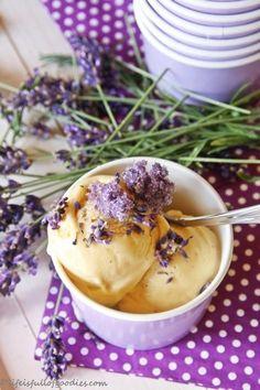 Lavendel-Eis