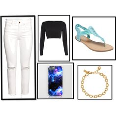 black and white by abidois on Polyvore featuring River Island, H&M, Wet Seal and Kate Spade