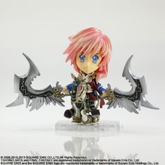 Kirin Hobby : Final Fantasy Trading Arts Kai: FFXIII Lightning Figure by Square Enix 662248812526