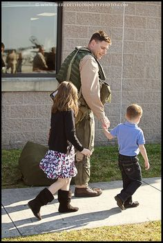 A Military Story: {Homecoming} Wittel Family