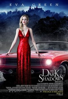 Eva Green as Angelique Bouchard in Tim Burton's 'Dark Shadows'  9 new character posters: